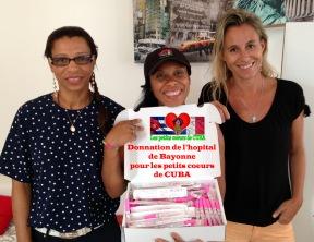 donnation hopital-association les petits coeurs de cuba