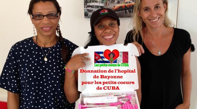 Nouvelle et généreuse donation
