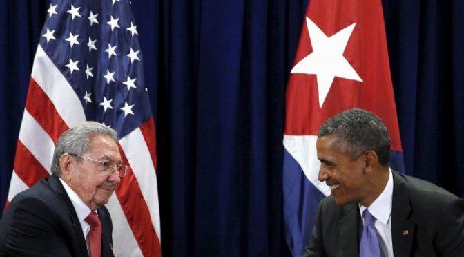 La famille Obama a découvert La Havane …