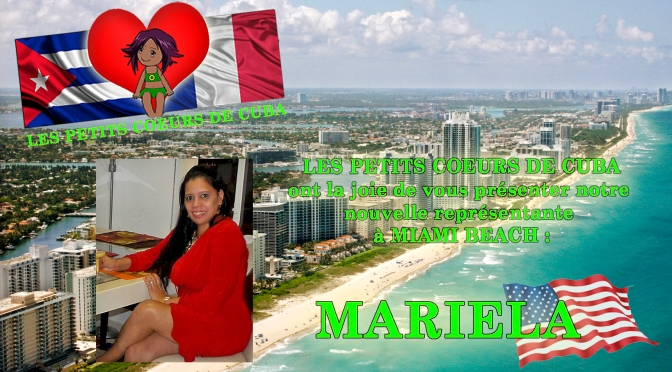 MARIELA représentante à MIAMI BEACH (USA)