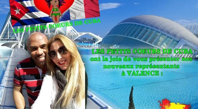 PAPUCHO et LORENA représentants à VALENCE (ESPAGNE)