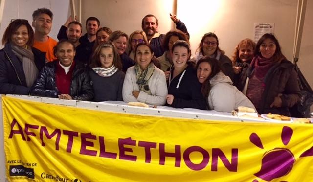 VIDE-GRENIER DU TELETHON D'ARBONNE DU 11 NOVEMBRE 2016