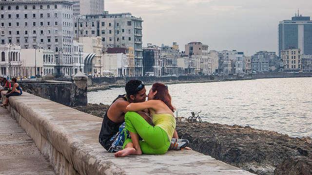 Vidéo 14 février saint valentin à Cuba