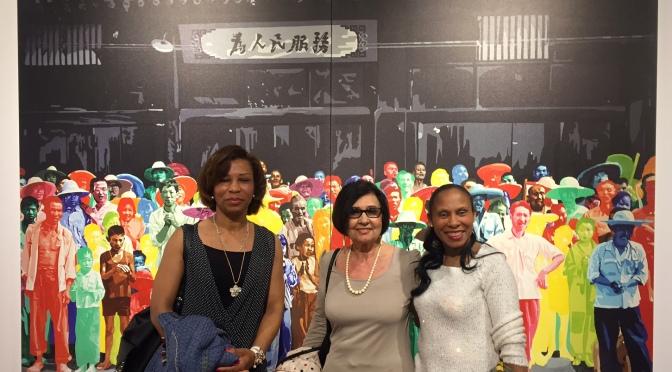 LES PETITS CŒURS invités à l'exposition pop art et abstraction lyrique à Bayonne.