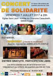 affiche concert 7 juillet