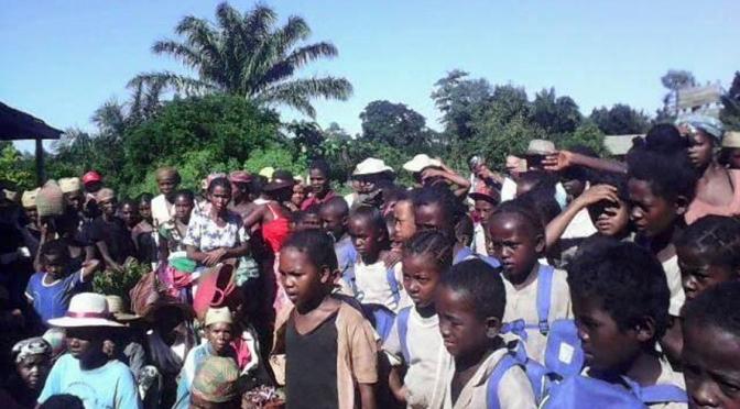 REPAS A LA CROIX ROUGE DE BAYONNE AU PROFIT DES ENFANTS DE MITANTY (MADAGASCAR)