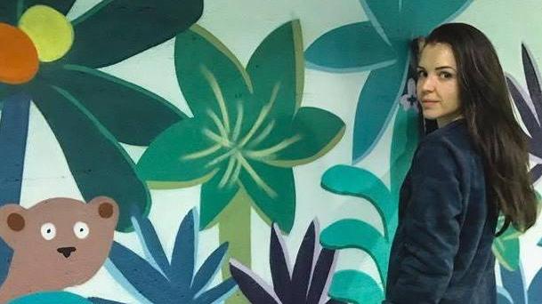 LEONA ROSE, la talentueuse artiste française qui va partager son art avec nos petits protégés et dans notre centre d'accueil de Cuba.