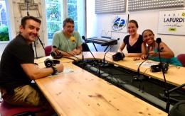 INTERVIEW A LA RADIO  «LAPURDI» EN PREVISION DE NOTRE PROCHAINEMISSION.