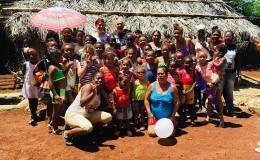 UN DIMANCHE DE GOÛTER ET DONATION AU CENTRE D'ACCUEIL DE CUBA GRACE A DES GÉNÉREUXBRETONS.