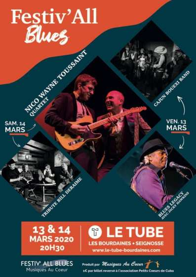 Festiv'hall blues les Bourdaines