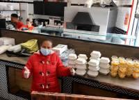 Aides alimentaire coronavirus association labo du pizzaiolo petits coeurs de Cuba centre misericorde 1
