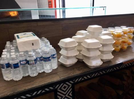 Aides alimentaire coronavirus association labo du pizzaiolo petits coeurs de Cuba centre misericorde 8