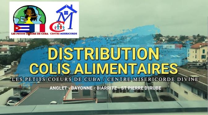 JOURNÉE TYPE D'UNE DISTRIBUTION DES COLIS ALIMENTAIRES DES PETITS CŒURS DE CUBA EN FRANCE.